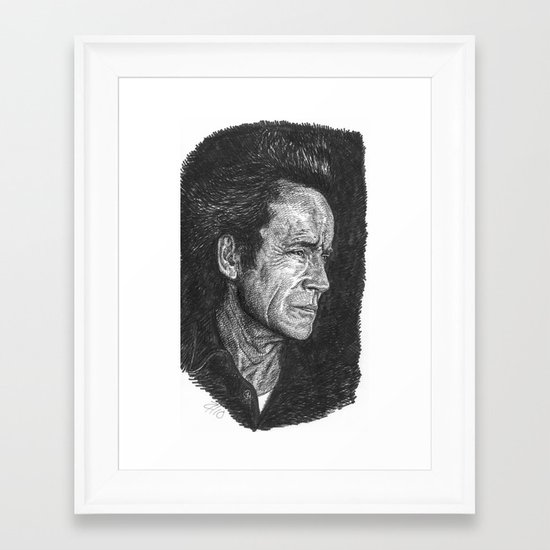 Lance Henriksen Framed Art Print