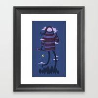Strollin Framed Art Print