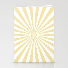 Starburst (Vanilla/White) Stationery Cards