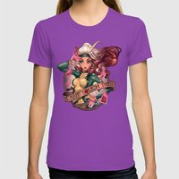 CAN'T TOUCH THIS Womens Fitted Tee Ultraviolet SMALL