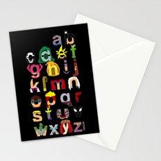 Marvelphabet Villains Stationery Cards
