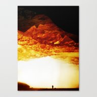 Gold Greed Canvas Print