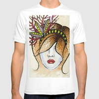 chloe Mens Fitted Tee White SMALL