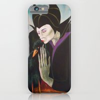 Sorceress With Raven iPhone 6 Slim Case