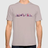 Horror Princess Mens Fitted Tee Cinder SMALL