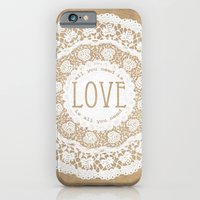 iPhone & iPod Case featuring All You Need is Love by Jenndalyn