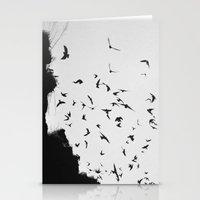 Black November Stationery Cards