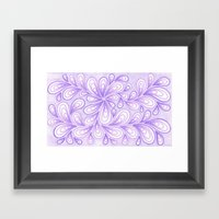 Light Purple  Framed Art Print