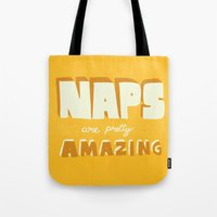 Naps Are Pretty Amazing Tote Bag