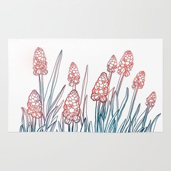 Hyacinths Area & Throw Rug