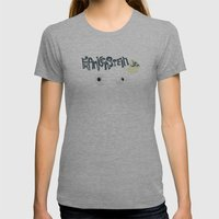 Young Frankenstein Womens Fitted Tee Athletic Grey SMALL