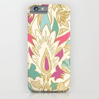 iPhone & iPod Case featuring Vintage_Pattern_Cream by Crystal ★ Walen