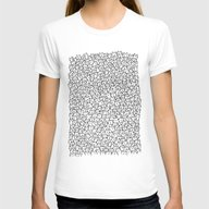 A Lot Of Cats Womens Fitted Tee White SMALL