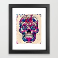 Painted Remains Framed Art Print
