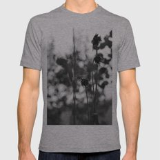Closeness Mens Fitted Tee Athletic Grey SMALL