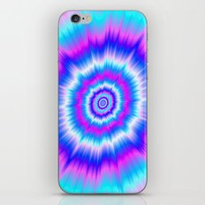 Boom in Blue and Pink iPhone & iPod Skin