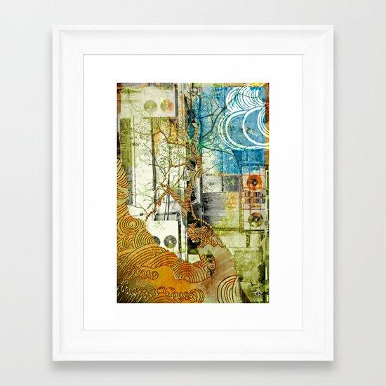 CLiM8 Framed Art Print