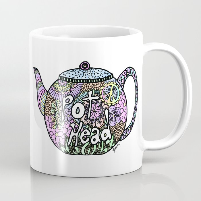 tea pot head lover mug coffee cup gift ideas