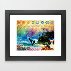 Vision Board Framed Art Print