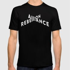 A=R Black SMALL Mens Fitted Tee