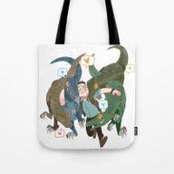 The Raptors Tote Bag