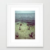 human algae Framed Art Print