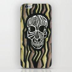 Skull Fiber iPhone & iPod Skin