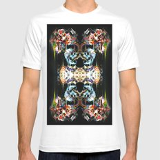 Golden Death White SMALL Mens Fitted Tee