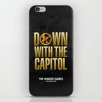 Hunger Games - Down With… iPhone & iPod Skin