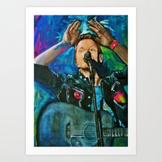 CHRIS MARTIN Art Print
