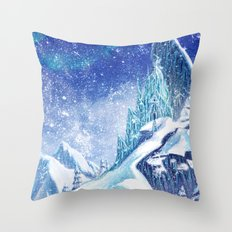 ~Frozen .:A Kingdom of Isolation:. Throw Pillow