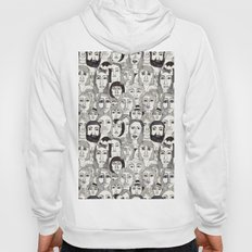Faces in the Tube Hoody
