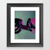 Disquiet Three Framed Art Print