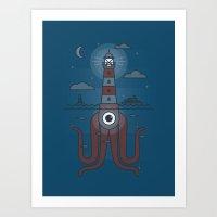 Sea Sentinel Art Print