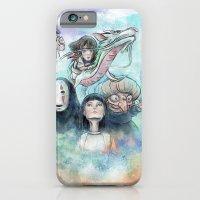 Spirited Away Watercolor… iPhone 6 Slim Case