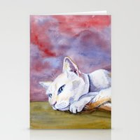 Tabitha at rest Stationery Cards