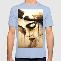 45701 Mens Fitted Tee Tri-Blue SMALL