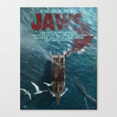 Jaws Canvas Print