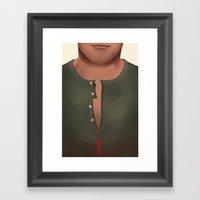 Dexter - Kill Shirt Framed Art Print