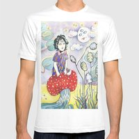 Enid On Acid Mens Fitted Tee White SMALL