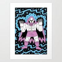 Necromancer  Art Print