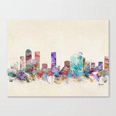 Denver Colorado Skyline Canvas Print