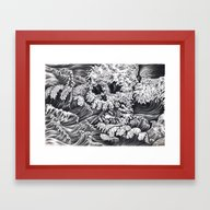 Rough Sea Framed Art Print