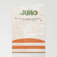 Juno - Alternative Movie Poster Stationery Cards