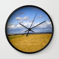 German Countryside Wall Clock