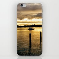 Settling in the Bay iPhone & iPod Skin