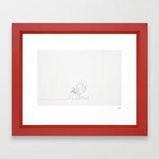 The Dictator Linea (Chaplin) Framed Art Print