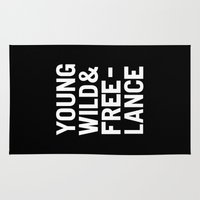 YOUNG WILD & FREELANCE Rug