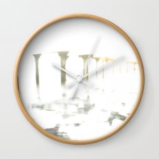 Of Fading Dreams Wall Clock