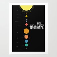 End Of The World? Art Print